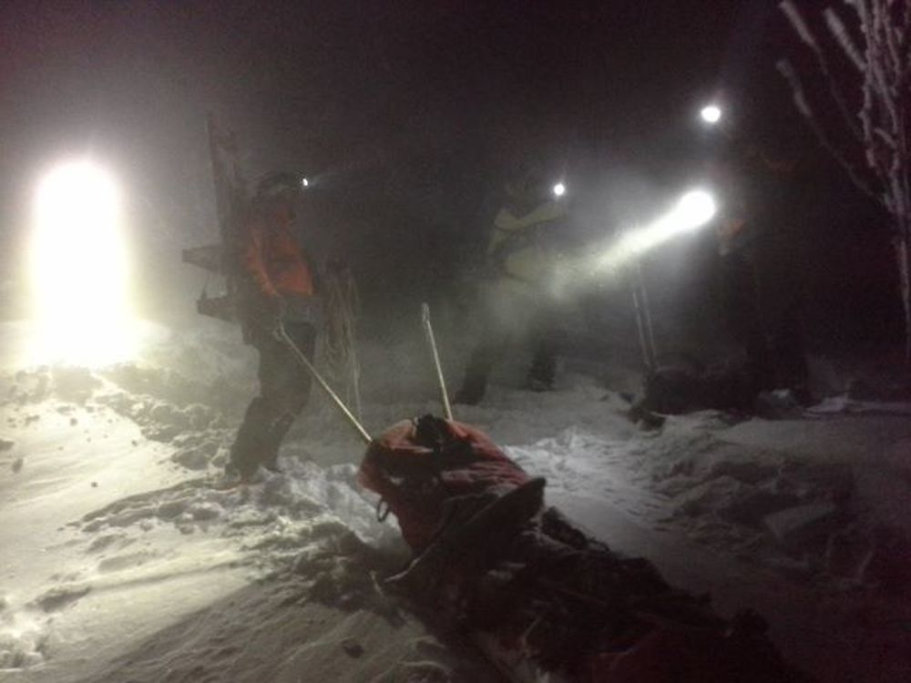 V Malej Fatre dostal turista epileptický záchvat, zasahovali záchranári , foto 2