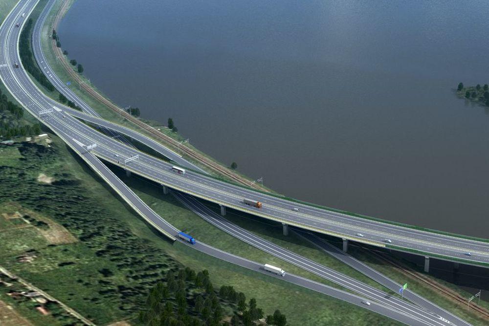Vizualizácia úseku diaľnice D3 Žilina, Strážov – Žilina, Brodno, foto 2