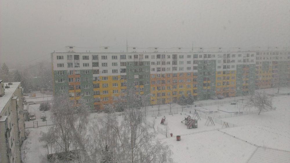 Výdatné sneženie 30.1.2015 v Žiline, foto 3