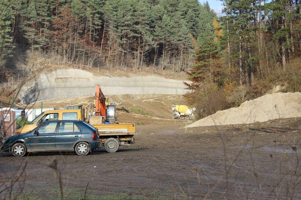 Výstavba diaľnice D3 pri Žiline - Strážov - Brodno, foto 1