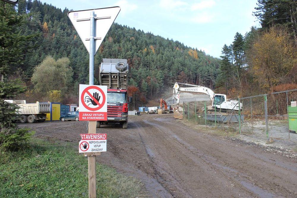 Výstavba diaľnice D3 pri Žiline - Strážov - Brodno, foto 2