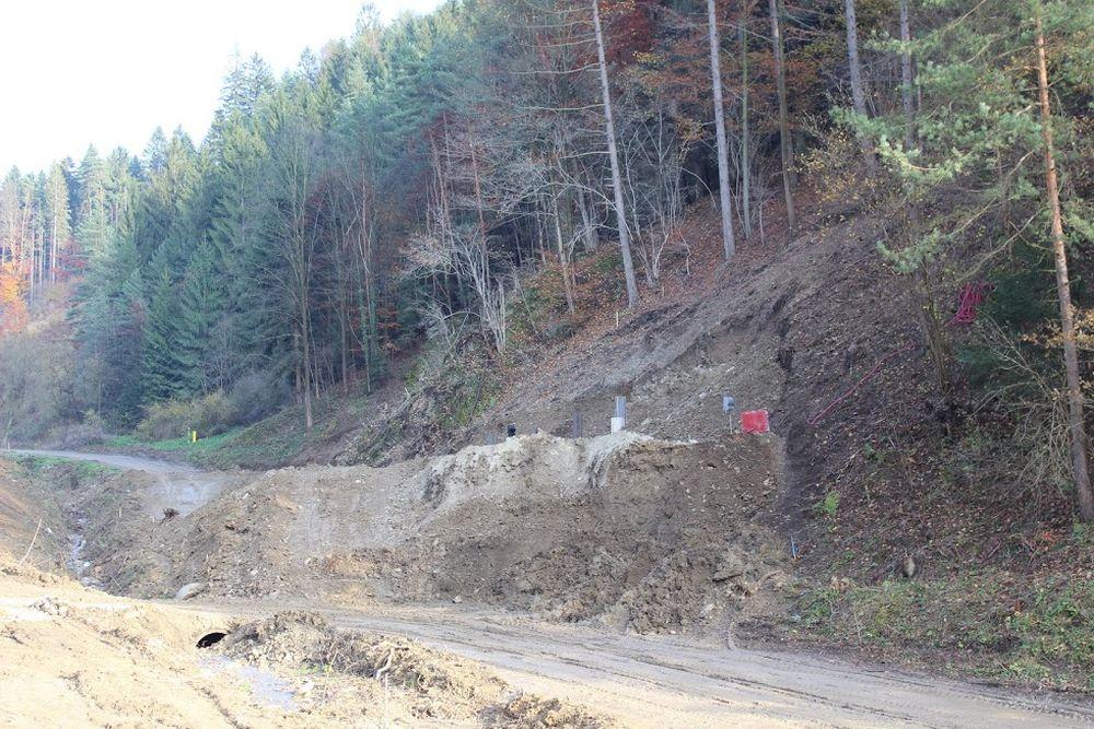 Výstavba diaľnice D3 pri Žiline - Strážov - Brodno, foto 5