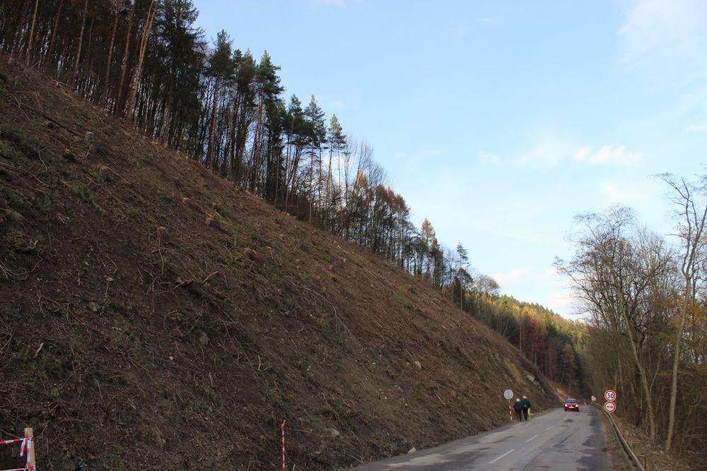 Výstavba diaľnice D3 pri Žiline - Strážov - Brodno, foto 9