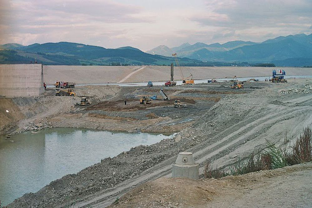 Vodné dielo Žilina - výstavba, foto 1