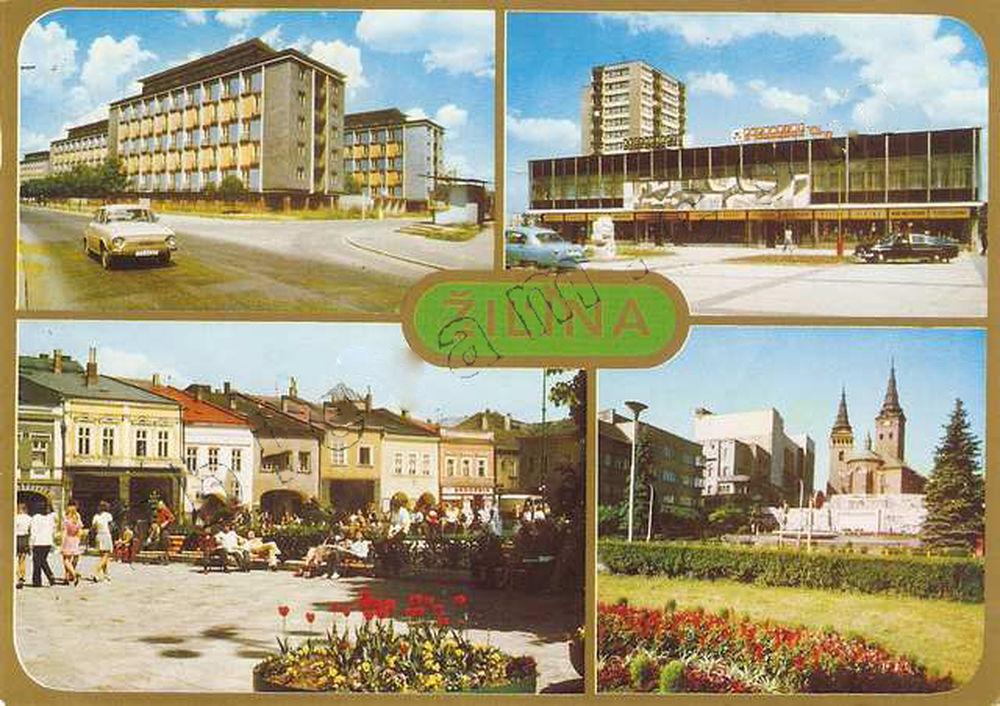 Žilina na starých pohľadniciach, foto 1