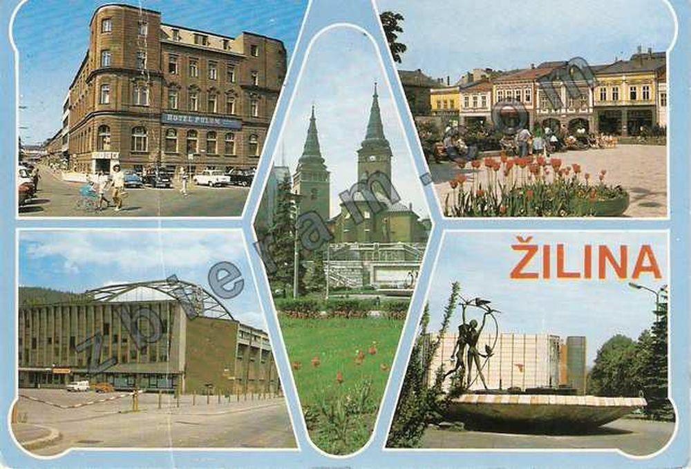 Žilina na starých pohľadniciach, foto 3