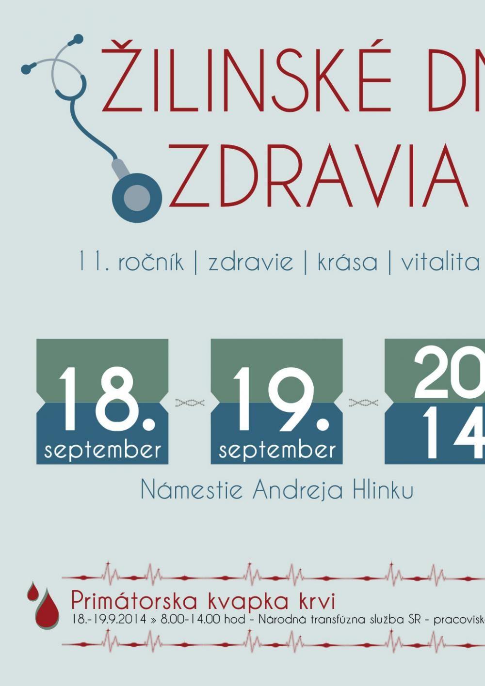 Žilinská plavecká štafeta a Žilinské dni zdravia 2014, foto 1