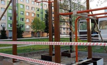Na Solinkách vyrástol nový workout park