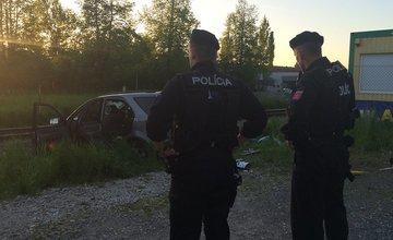 Dopravná nehoda v mestskej časti Bytčica - zrážka vlaku s autom