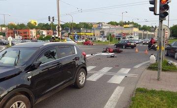 Vážna dopravná nehoda na križovatke Košická 15.5.2015