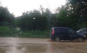 Zaplavená konečná MHD Solinky