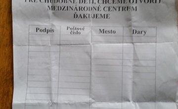 Falošné zbierky Žilina Rumuni