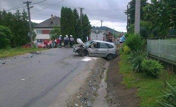 Dopravná nehoda Bitarová 15.6.2015