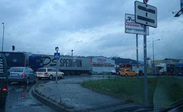 Dopravná nehoda  a kolóny na Kragujevskej 23.6.2015