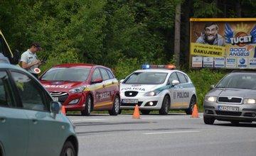 Dopravná nehoda na výjazde zo Žiliny, smer Martin 25.6.2015