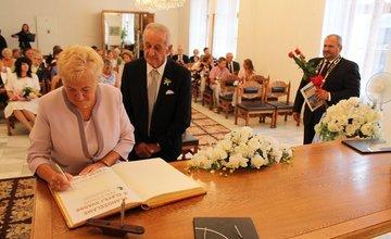 Zlatá svadba na Radnici mesta Žilina