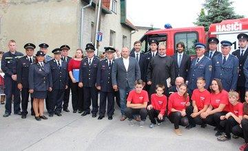 Nové hasičské vozidlo pre DZH Brodno