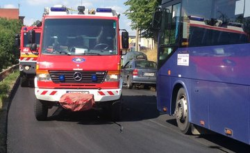 Požiar osobného vozidla v Bytčici 3.7.2015