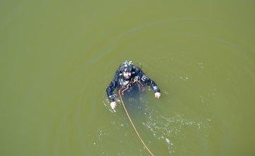 Pátranie po utopenom mladíkovi na vodnom diele Žilina 4.7.2015