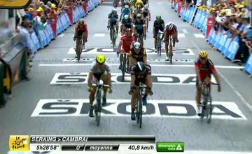 Peter Sagan 3. miesto Stage 4 Tour de France
