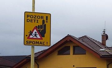 Neexistujúce dopravné značky v mestskej časti Solinky - Juh