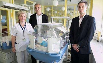 Žilinská nemocnica dostala tri nové inkubátory!
