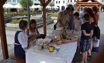 Tvorivé remeselné dielne 2015 na Mariánskom námestí