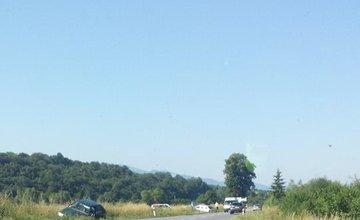 Dopravná nehoda dvoch vozidiel pri obci Belá 22.7.2015