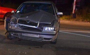 Nehoda na železničnom priecestí, vodič nerešpektoval signalizáciu