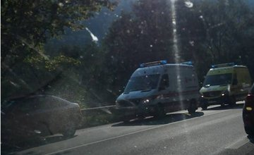 Dopravná nehoda pod  Strečnom 10.8.2015