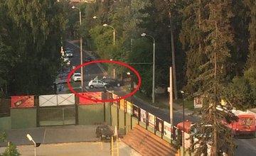 Dopravná nehoda na Tajovského ulici 12.8.2015