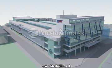 Projekt novej autobusovej stanice z roku 2006
