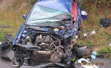 Tragická nehoda pri Strečne 18.8.2015