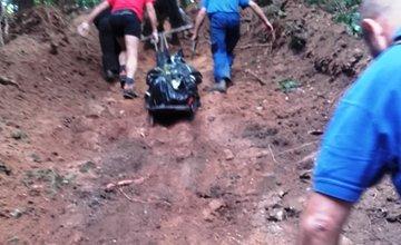 Tragická smrť lesného robotníka Veľká Fatra