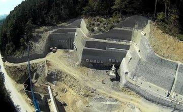 Fotografie výstavby tunela D3 Žilina - Brodno