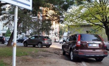 Parkovanie v žilinskej nemocnici