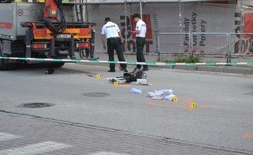 Tragická nehoda na ulici Hurbanova 16.9.2015
