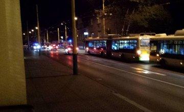 Dopravná nehoda cyklistu a osobného auta na Spanyolovej ulici 24.9.2015