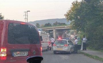 Nehoda na križovatke Rosinská cesta - Bagarova 5.10.2015