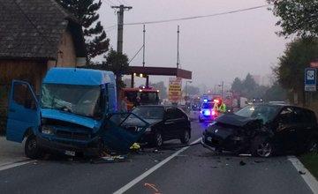 Dopravná nehoda v Bytčici - 7.10.2015