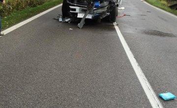 Aktuálne: Pri Ružomberku sa zrazil kamión s 2 osobnými autami