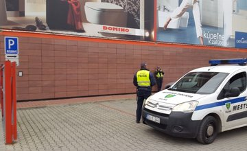 Pokutovanie za parkovanie pri Merkury Markete