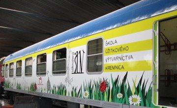 Nový detský vozeň na trati Žilina - Zvolen