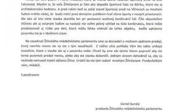 List predsedu ŽMP