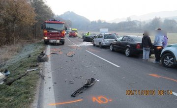 Dopravná nehoda 5.11.2015 Slnečné skaly, Poluvsie