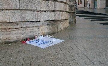 Na obete teroristických útokov si spomenuli aj v Žiline