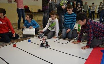 Mladé talenty robotiky z celého Slovenska sa stretli v Martine