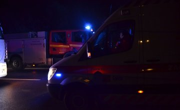 Dopravná nehoda na ceste I/18 pri Žiline - 23.11.2015