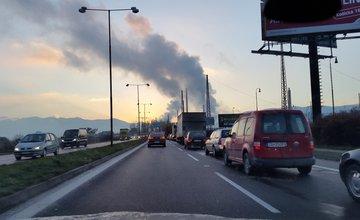 Kolaps dopravy v Žiline - 23.11.2015