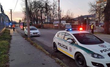 Dopravná nehoda v Celulózke 14.12.2015